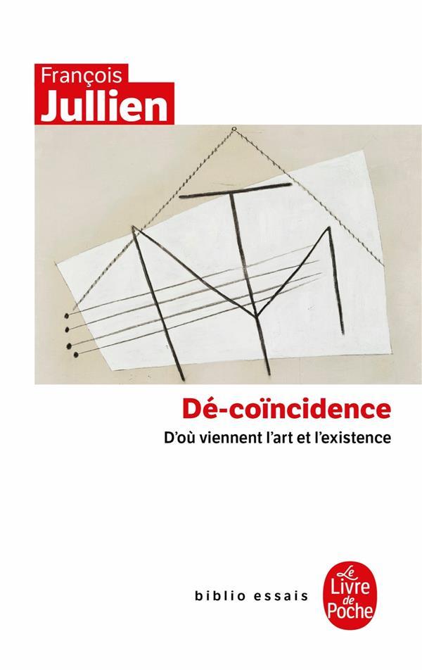 Dé-coïncidence ; d'ou viennent l'art et l'existence
