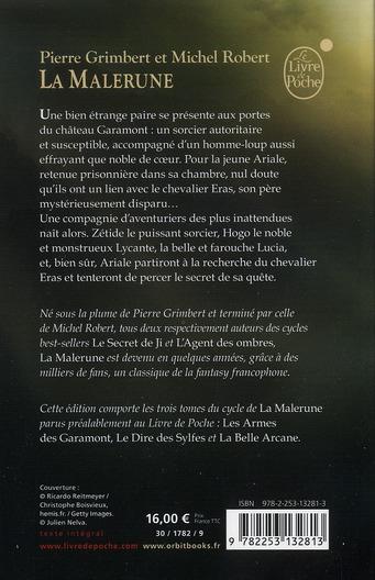 La Malerune t.1 à t.3