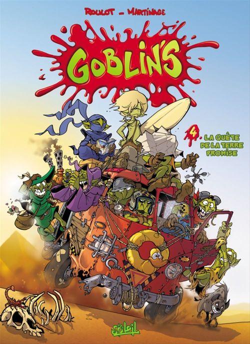 Goblin's t.4 ; la quête de la terre promise