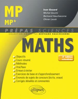 Prépas sciences ; mathématiques ; MP, MP* (3e édition)