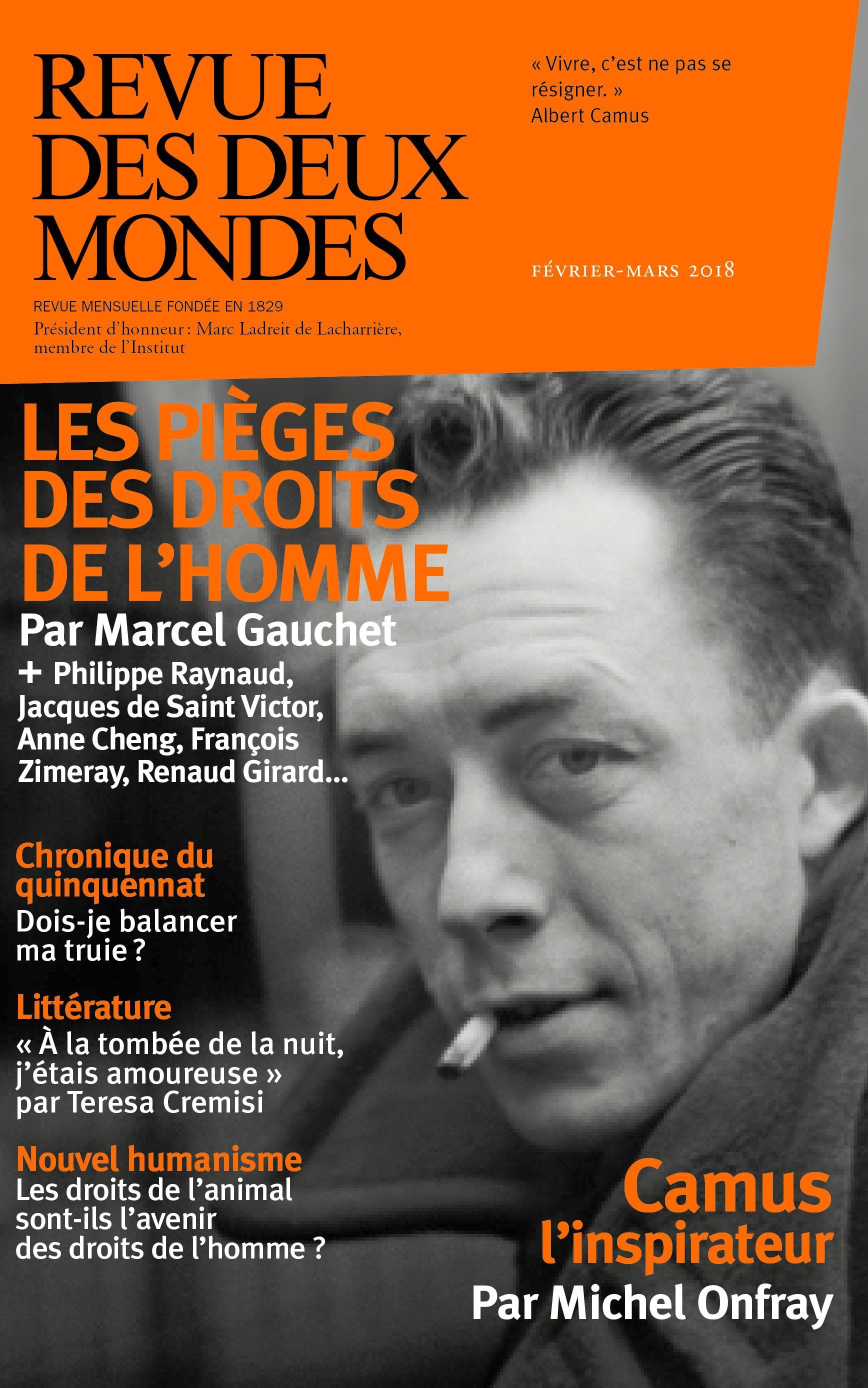 REVUE DES DEUX MONDES (édition 2018)