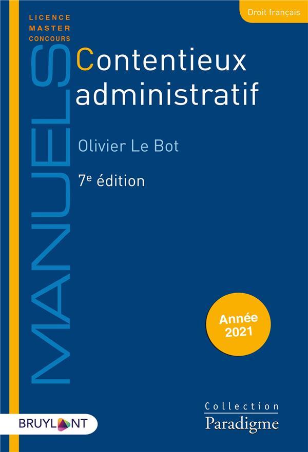 Contentieux administratif (édition 2021)