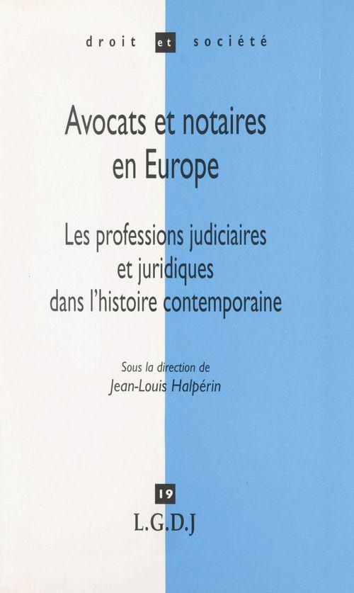 Avocats et notaires en europe