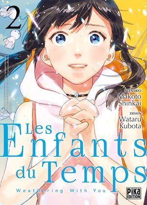 Les enfants du temps ; weathering with you T.2  - Wataru Kubota  - Makoto Shinkai