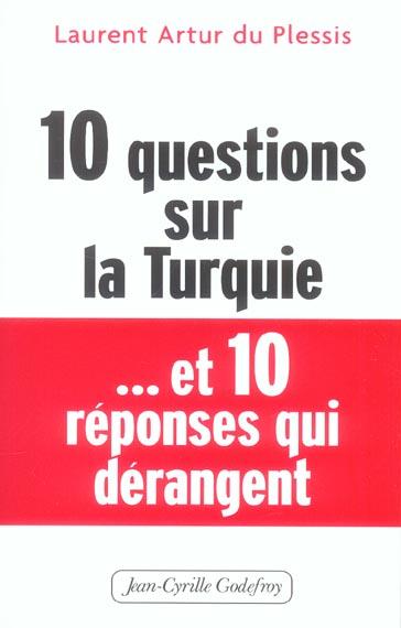 10 questions sur la turquie