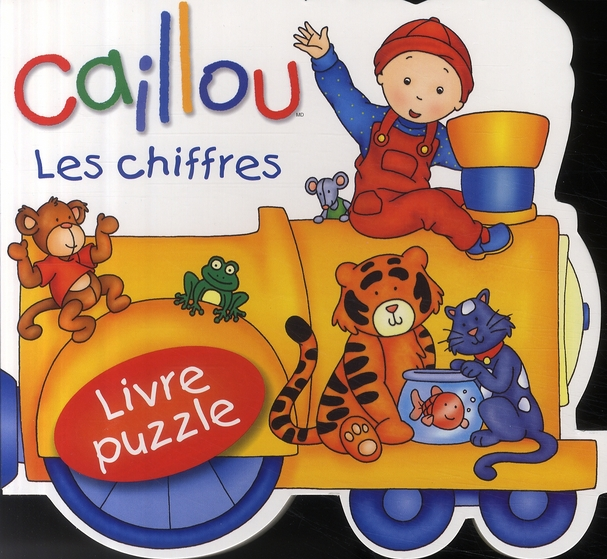 Caillou Les Chiffres ; Livre Puzzle