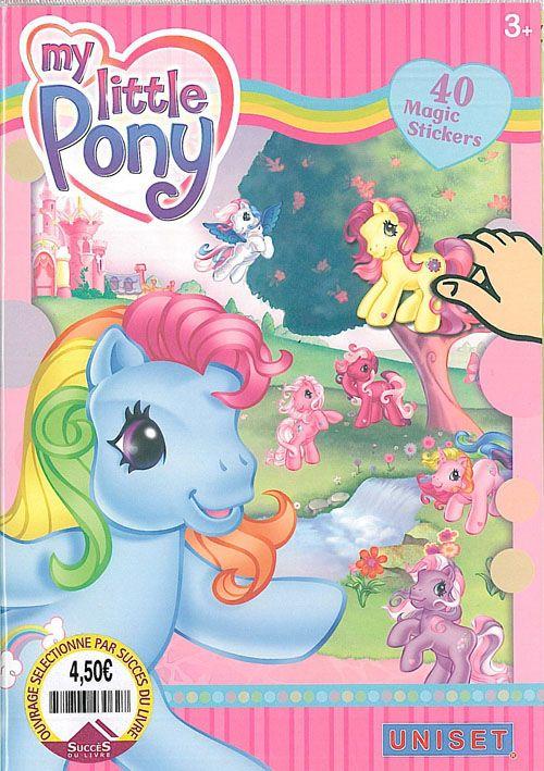 My little pony ; 40 magic stickers