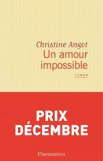 Vente Livre Numérique : Un amour impossible  - Christine Angot