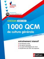 1 000 QCM culture générale ; cétegories A, B, C (édition 2020/2021)  - Pascal Joly