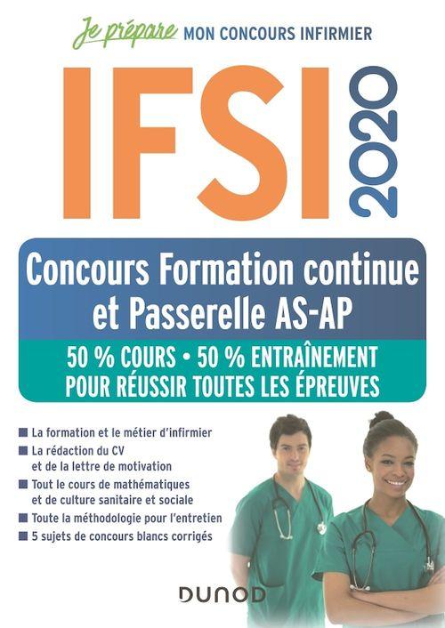IFSI 2020 Concours Formation continue et Passerelle AS-AP - 50% Cours - 50% Entraînement