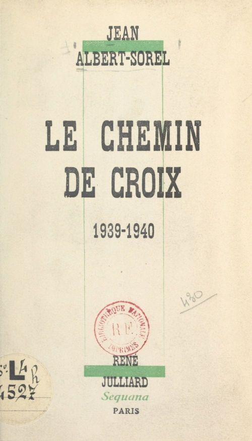 Le chemin de croix  - Jean Albert-Sorel
