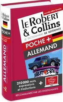 Dictionnaire ; poche + allemand