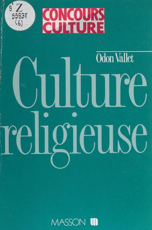 Culture religieuse