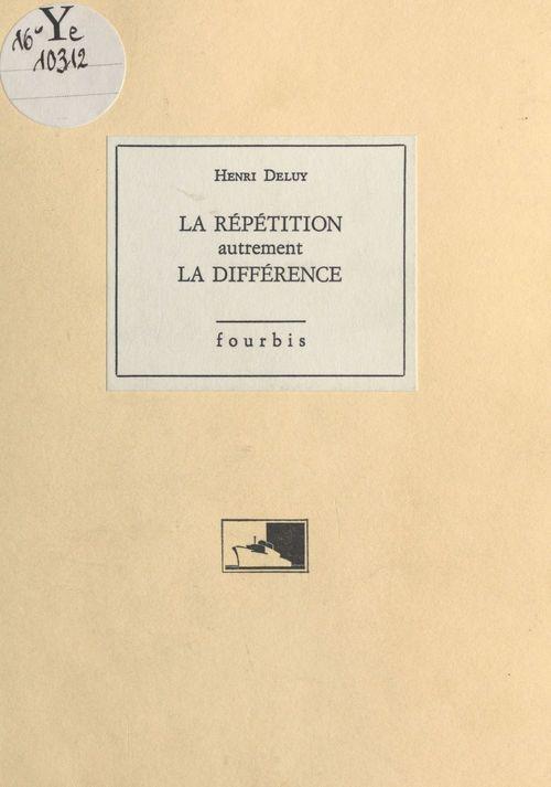 La repetition