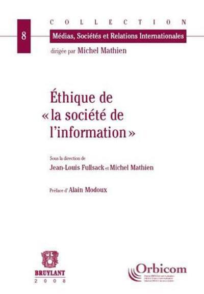 éthique de la société d'information