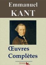Vente EBooks : Emmanuel Kant : Oeuvres complètes  - Emmanuel KANT - Arvensa Éditions