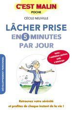 Vente EBooks : Lâcher prise en 5 minutes par jour, c'est malin  - Cécile Neuville