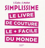 Couverture de Simplissime ; le livre de couture le + facile du monde