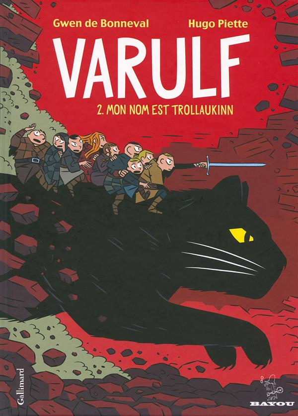 Varulf t.2 ; mon nom est Trollaukinn