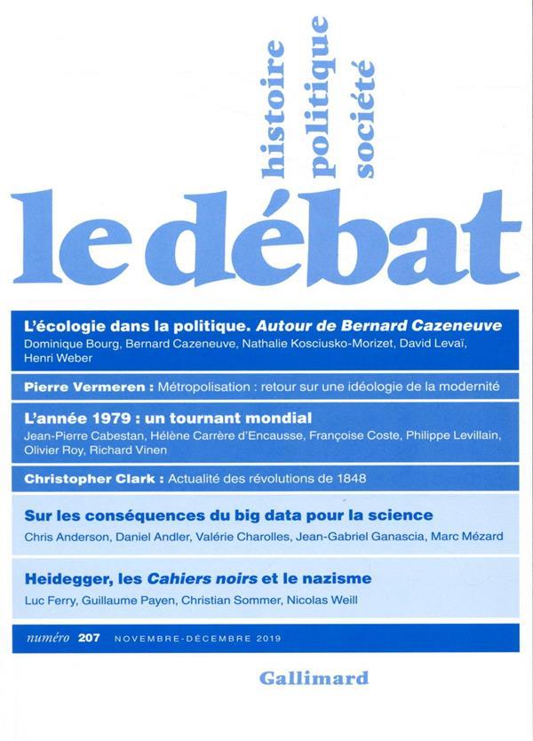 LE DEBAT COLLECTIFS GALLIMARD