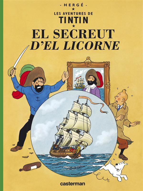 Tintin Borain De Frameries ; Le Secret De De La Licorne