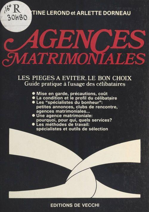Agences matrimoniales