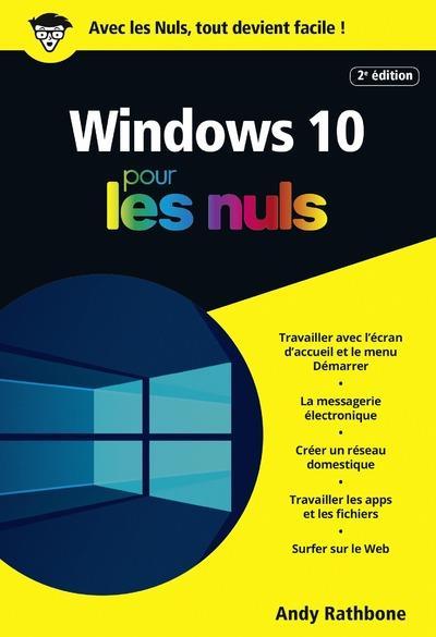 Windows 10 pour les nuls (2e édition)