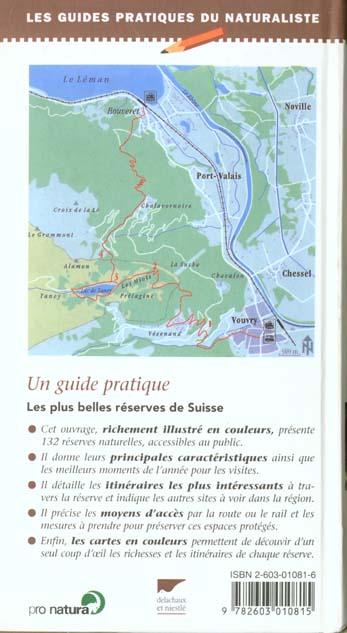Guide des reserves naturelles de suisse