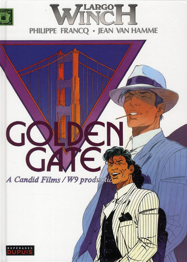 Largo Winch T.11 ; golden gate