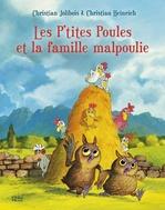 Vente EBooks : Les P'tites Poules et la famille malpoulie  - Christian JOLIBOIS - Christian HEINRICH