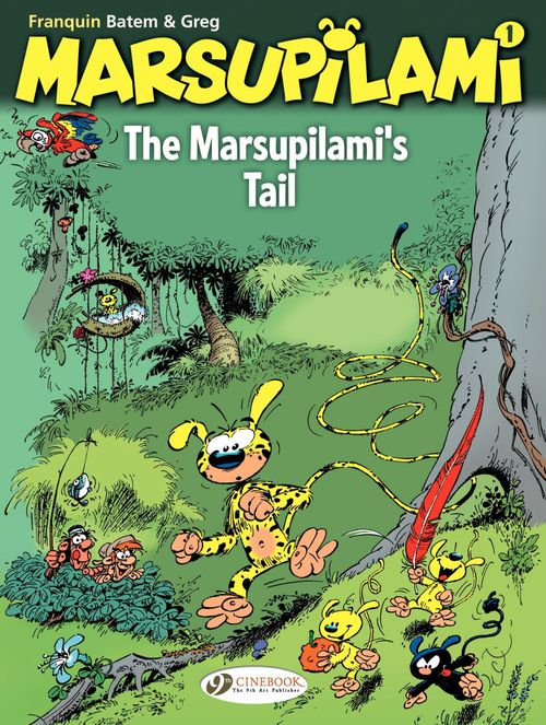 Marsupilami T.1 ; the Marsupilami's tail
