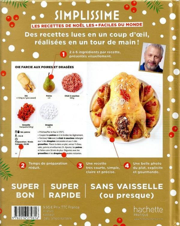 Simplissime ; les recettes de Noël les + faciles du monde