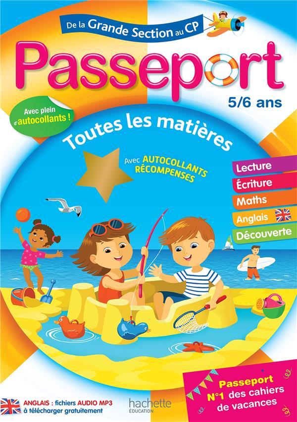 Passeport ; de la GS au CP
