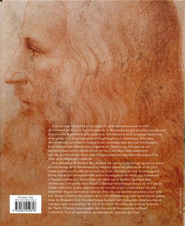 Léonard de Vinci ; le génie en dessin