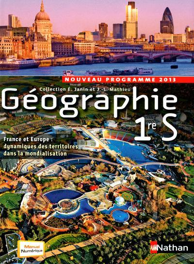 Geographie ; 1re S ; Programme 2013