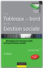 Vente Livre Numérique : Les tableaux de bord de la gestion sociale - 6e éd  - Jean-Pierre Taïeb