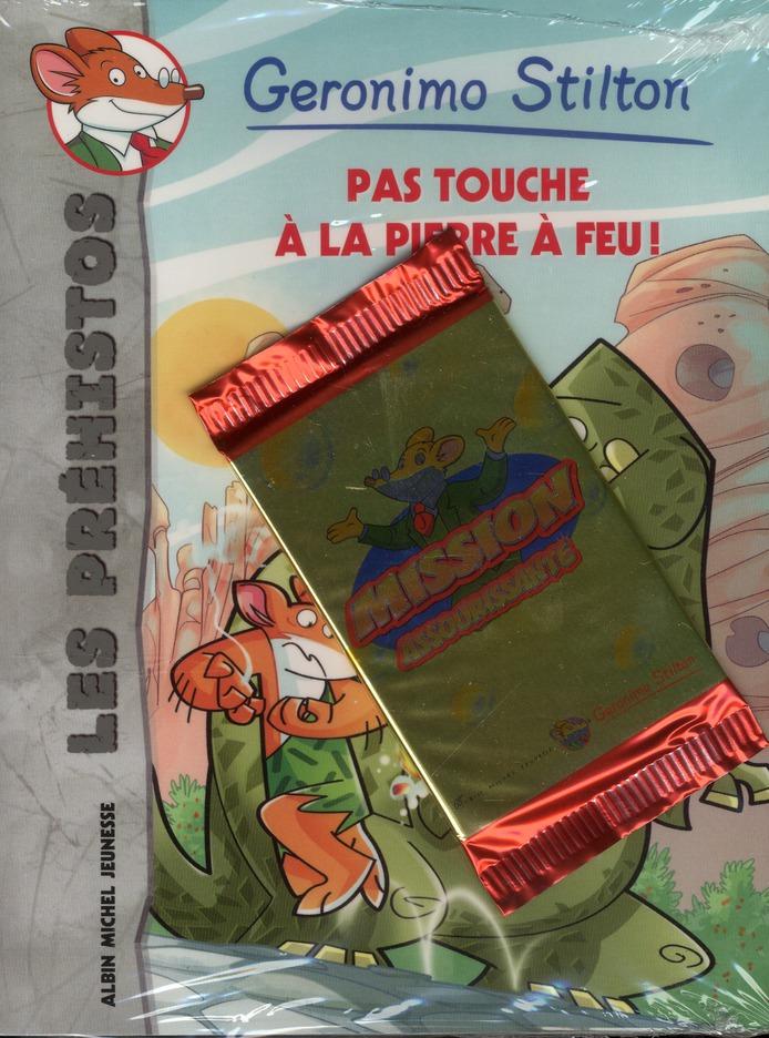 Les Prehistos T.1 ; Pas Touche A La Pierre A Feu !