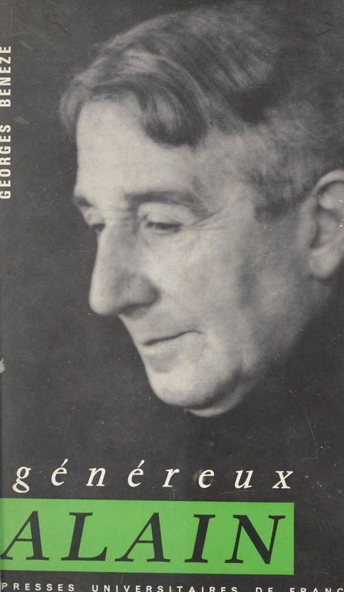 Généreux Alain  - Georges Bénézé