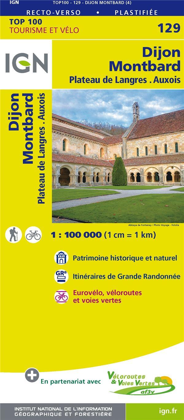 TOP100129 ; Dijon, Montbard, plateau de Langres, Auxois