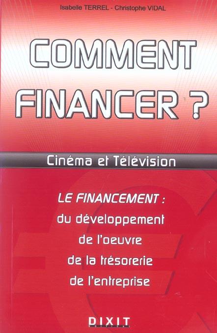 Comment financer cinema et television