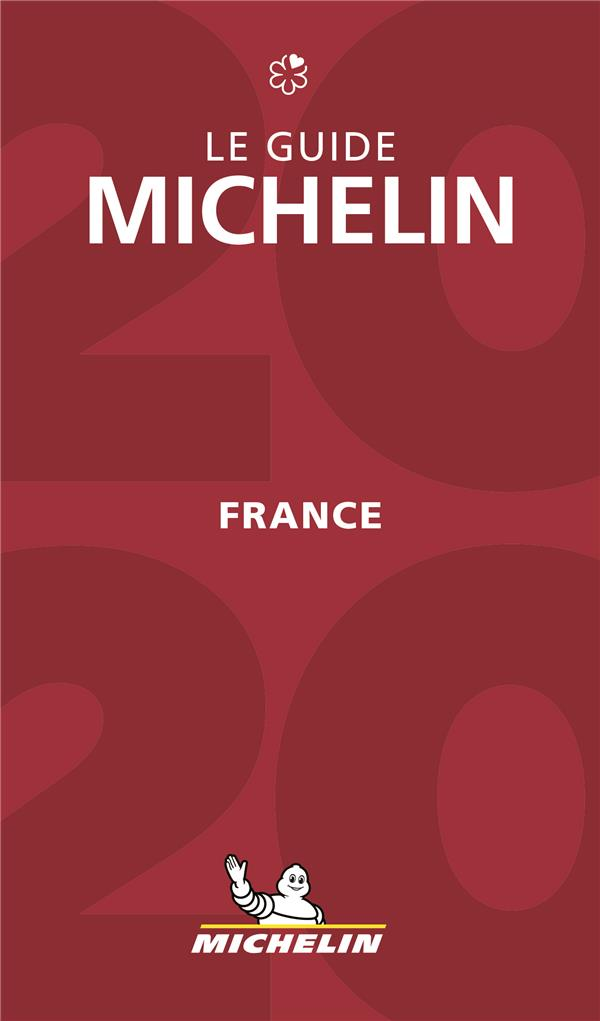 Le guide Michelin ; France (édition 2020)
