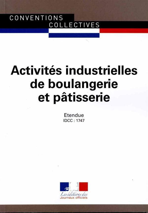 Activités industrielles de boulangerie et pâtisserie (14e édition)