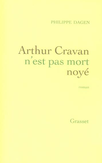 Arthur cravan n'est pas mort noye