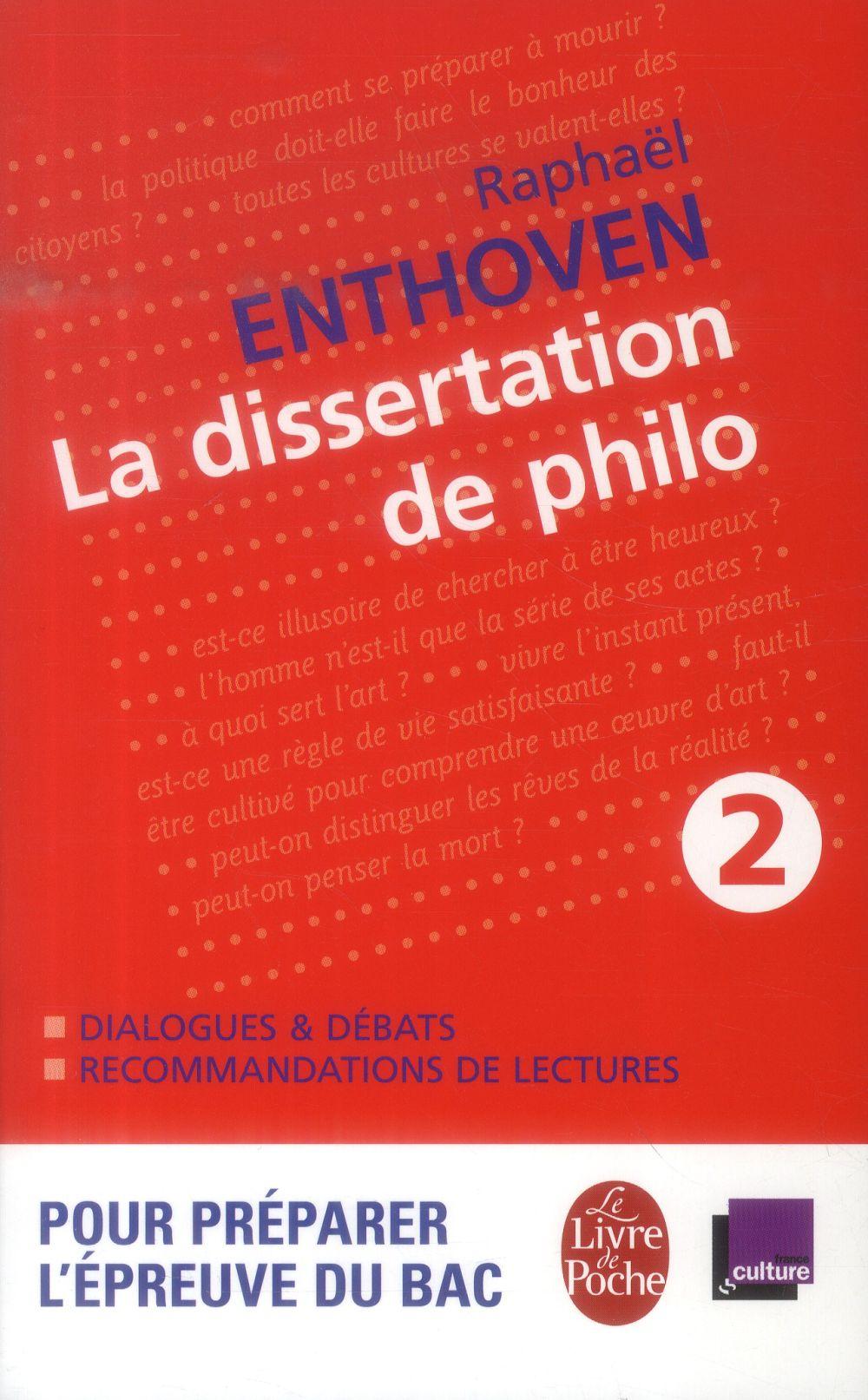La dissertation de philo t.2