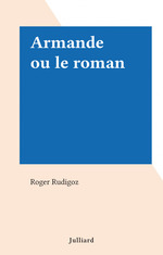 Armande ou le roman