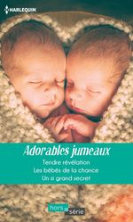 Vente Livre Numérique : Adorables jumeaux  - Rebecca Winters - Fiona Lowe - Raye Morgan