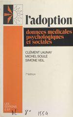 Vente EBooks : L'adoption  - Simone Veil - Michel SOULE - Clément Launay