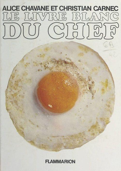 Le livre blanc du chef