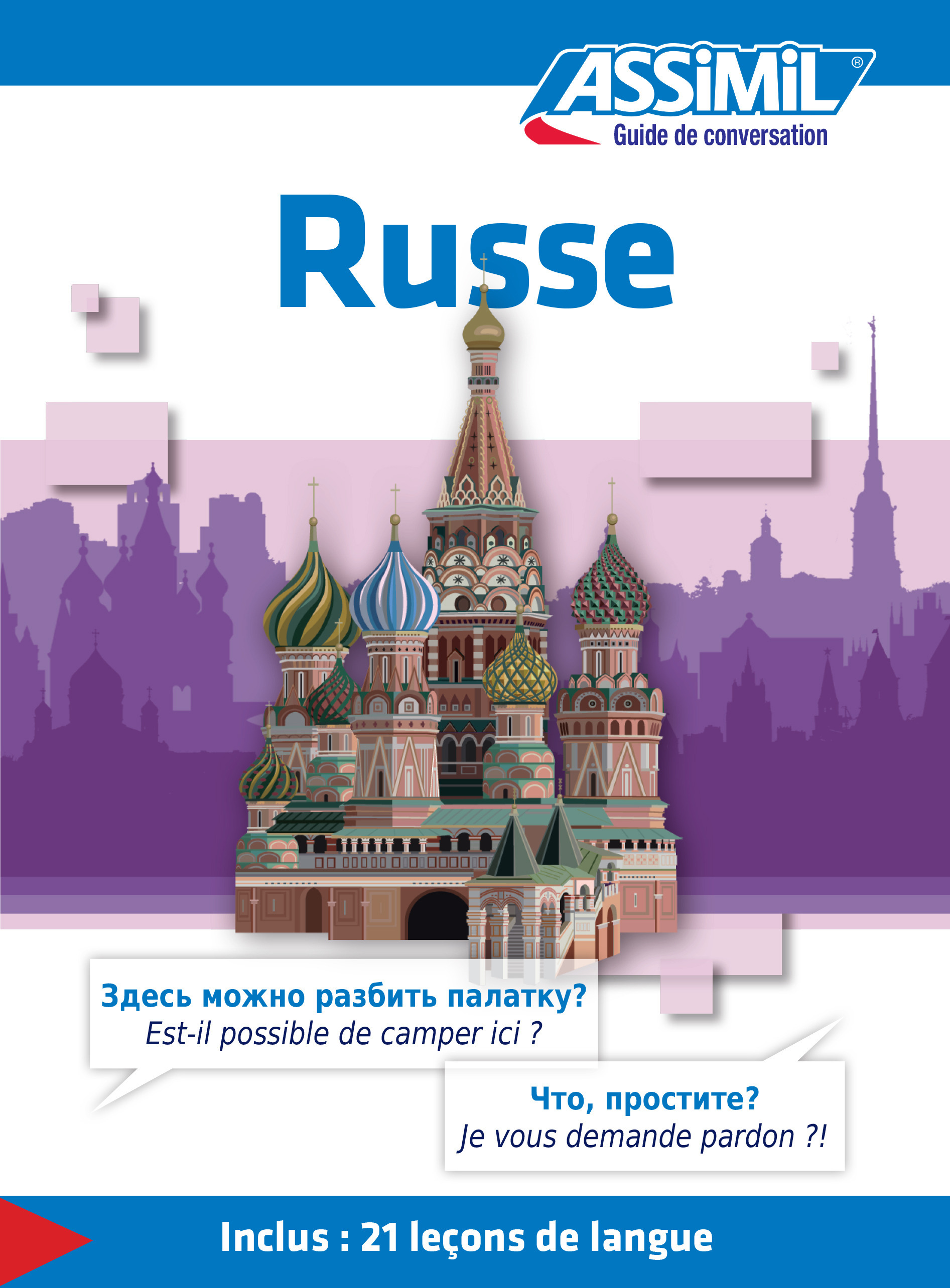 GUIDES DE CONVERSATION ; russe