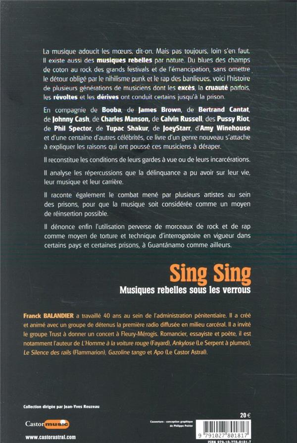 Sing Sing ; musiques rebelles sous les verrous